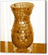 Shell Vase Canvas Print