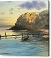 Shelter Bay Canvas Print
