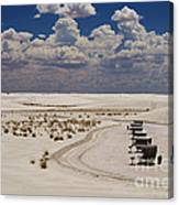 Shelters From The Afternoon Sun Canvas Print