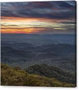 Shenandoah Sunset Canvas Print