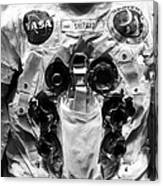 Shepard And Apollo 14 Canvas Print