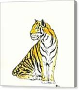Shere Khan Canvas Print