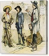 Sheriff John Behan, C1880s Canvas Print