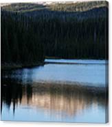 Sheriff Lake Flat Tops Colorado Canvas Print