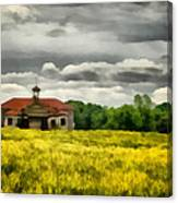 Shiloh School Canvas Print