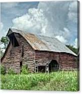 Shingle Barn 1 Canvas Print