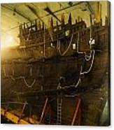 Shipwreck Of The Mary Rose, Portsmouth Canvas Print
