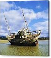 Shipwrecks, Bunbeg, Co Donegal Canvas Print
