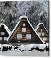 Shirakawago Canvas Print