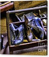Shoe - The Shoe Cobblers Box Canvas Print