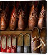 Shoemaker - Shoes Worn In Life Canvas Print