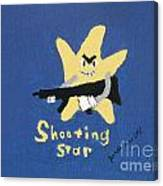 Shooting Star Canvas Print