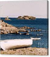 Shoreline Boat Canvas Print