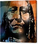 Shoshone Brave Canvas Print
