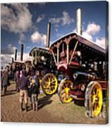 Showmans Engines At Dorset  Canvas Print