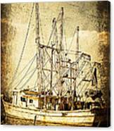 Shrimper Canvas Print