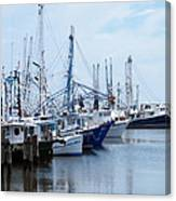 Shrimpers Row Canvas Print
