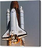 Shuttle Lift-off Canvas Print
