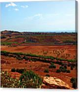 Sicilian Landscape Canvas Print