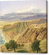 Sicily - Taormina Canvas Print