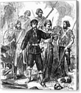 Sicily: Guerrillas, 1860 Canvas Print