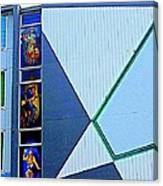 Side Of Building Canvas Print