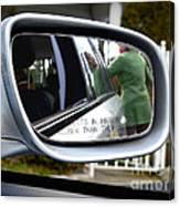 Side View Mirror Canvas Print