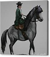 Sidesaddle Canvas Print