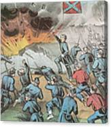 Siege And Capture Of Vicksburg, 1863 Canvas Print