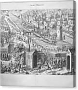 Siege Of Orleans, 1428-1429 Canvas Print