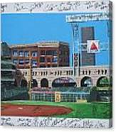 Signed Minute Maid Canvas Print