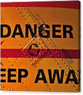 Signs Of Danger Canvas Print