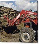 Silage Heap Canvas Print