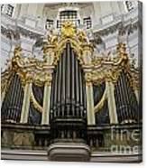 Silbermann Organ Canvas Print
