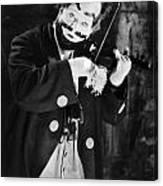 Silent Film Still: Clown Canvas Print