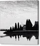 Silhouette 5 Canvas Print