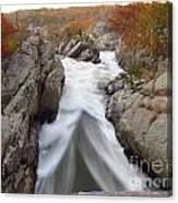 Silken Water Tent Canvas Print