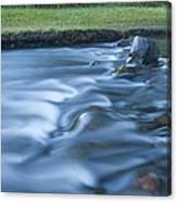 Silky Stream 2 Canvas Print