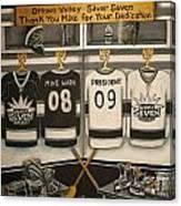 Silver 7 Tournament Canvas Print