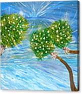 Silver Bells Canvas Print
