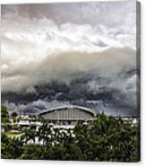 Silver Clouds V2 Canvas Print