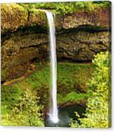 Silver Falls South Falls Canvas Print