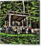 Silver Lake One Man Jam Fest Canvas Print