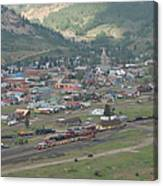 Silverton Colorado Painterly Canvas Print