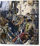 Simon De Montfort Canvas Print