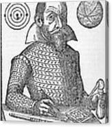 Simon Marius, German Astronomer Canvas Print