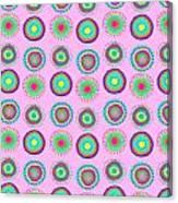 Simple Spots Canvas Print