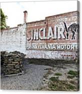 Sinclair Motor Oil Canvas Print