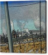 Sinclair Refinery Canvas Print