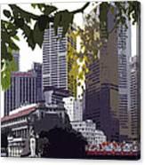 Singapore ... The Lion City  Canvas Print